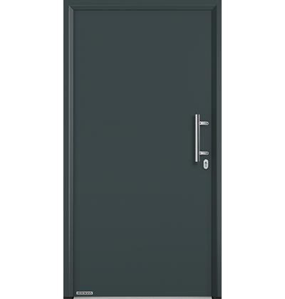 thermo65 und thermo46 eingangst ren aus stahl. Black Bedroom Furniture Sets. Home Design Ideas