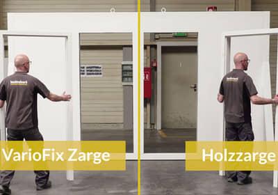 Stahlzarge Oder Holzzarge zargen für jede anwendung vom marktführer hoermann de